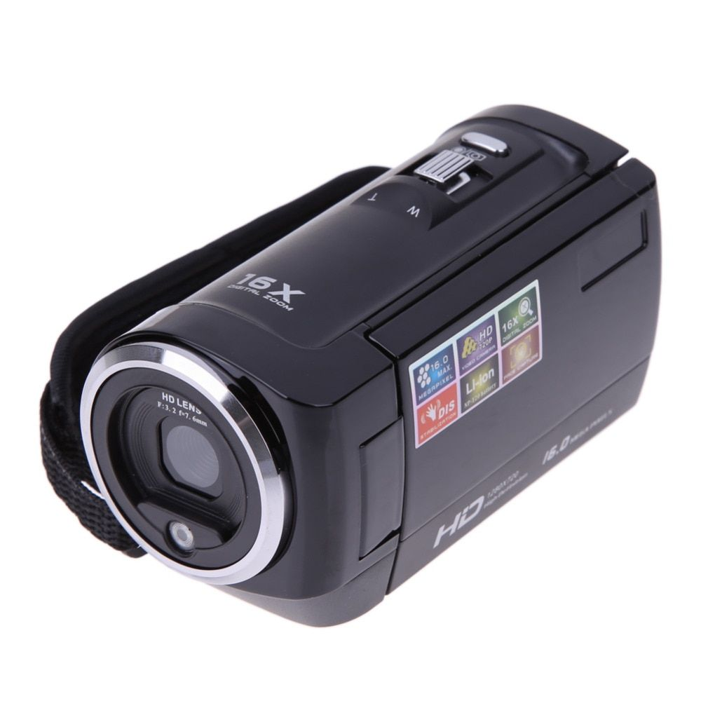 Full HD 720 P 16MP Automatische Digitalkamera Video Camcorder Kamera DV DVR 2,7
