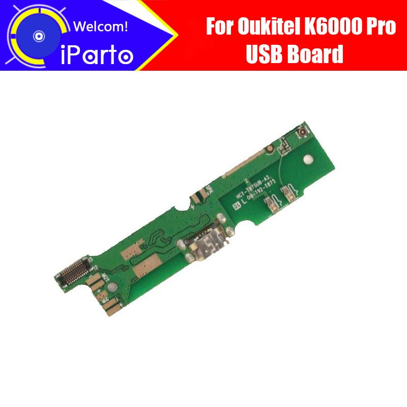 5.5 inch Oukitel K6000 Pro USB Board 100% New Original USB Charge Board Repair Replacement For K6000 Pro.