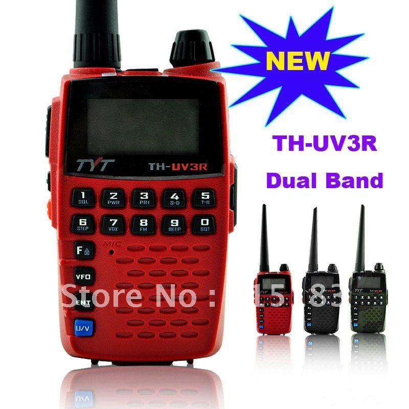 New Arrival TYT TH-UV3R VHF:136-174MHz & 400-470MHz Dual Band Dual Display Dual Standby Handheld Two Way Radio