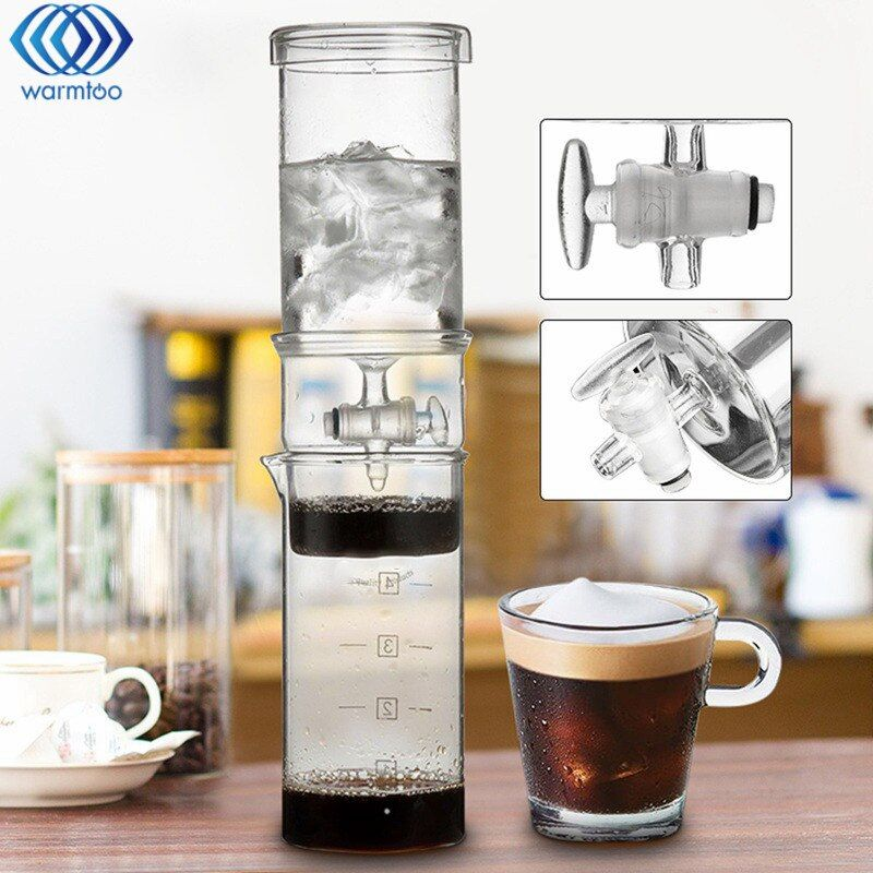 400ML Cold Drip Coffee Home Classic Cold Brew Coffee Iced Coffee Maker Dutch Ice Coffee Maker High Quality