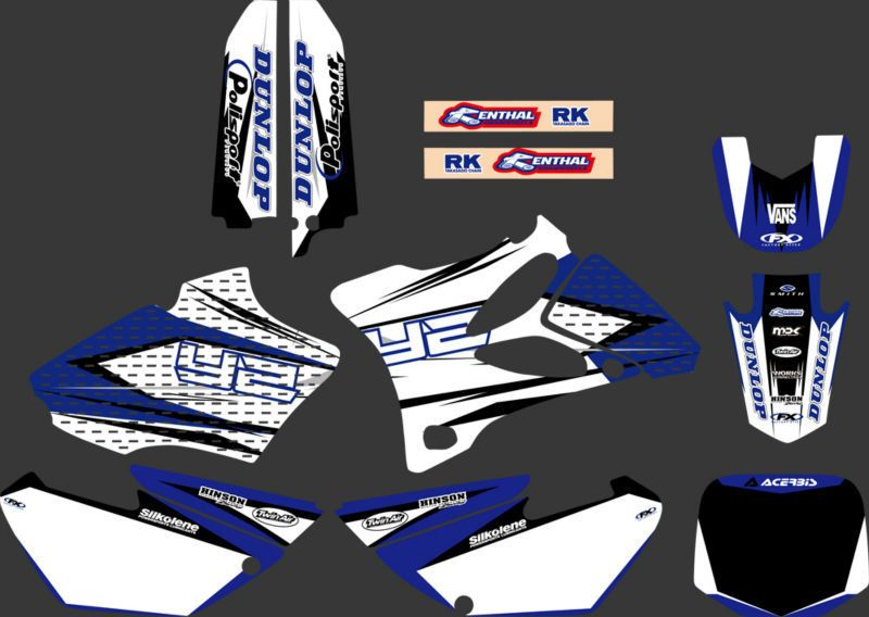GRAPHICS & BACKGROUNDS DECALS STICKERS Kits for Yamaha YZ85 YZ 85 2002 2003 2004 2005 2006 2007 08 09 10 2011 2012