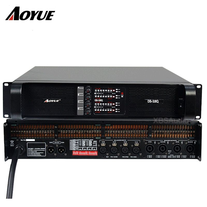 Verstärker 4 kanäle DS-10Q professional power verstärker fabrik