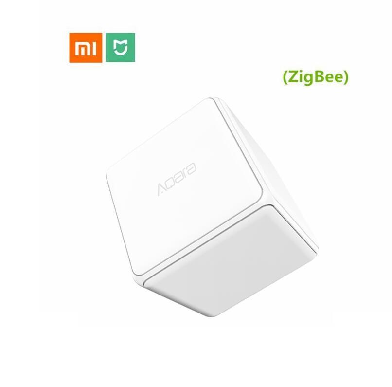 Contrôleur de Cube magique Xiao mi mi aqara Version Zigbee contrôlée par Six Actions dispositif de maison intelligente fonctionne avec l'application mi jia Home