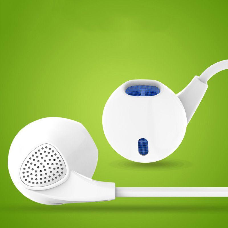 U1 Mujeres Earpod Auriculares de Alta Fidelidad con Micrófono para Móvil teléfono Universal Stereo Wired Auriculares DJ XBS BASS Auricular Mic s
