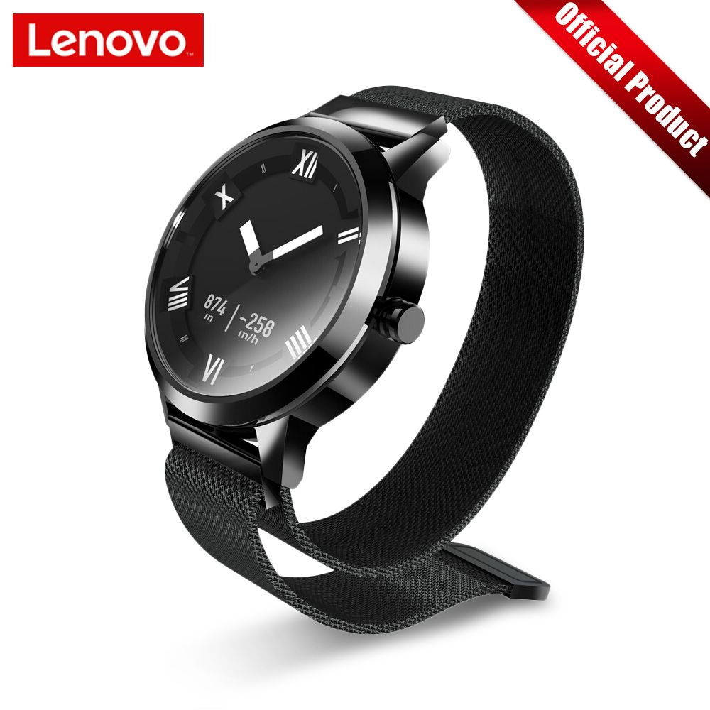 Lenovo Watch X Plus Smart Watch Milanese Fashion Watch OLED Screen 80M Waterproof Heart Rate/Air Pressure/Temperature Monitoring