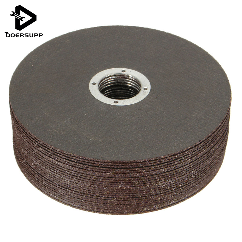 25 PCS/set Thin Metal Cutting Slitting Discs Stainless Steel 115mm/4.5