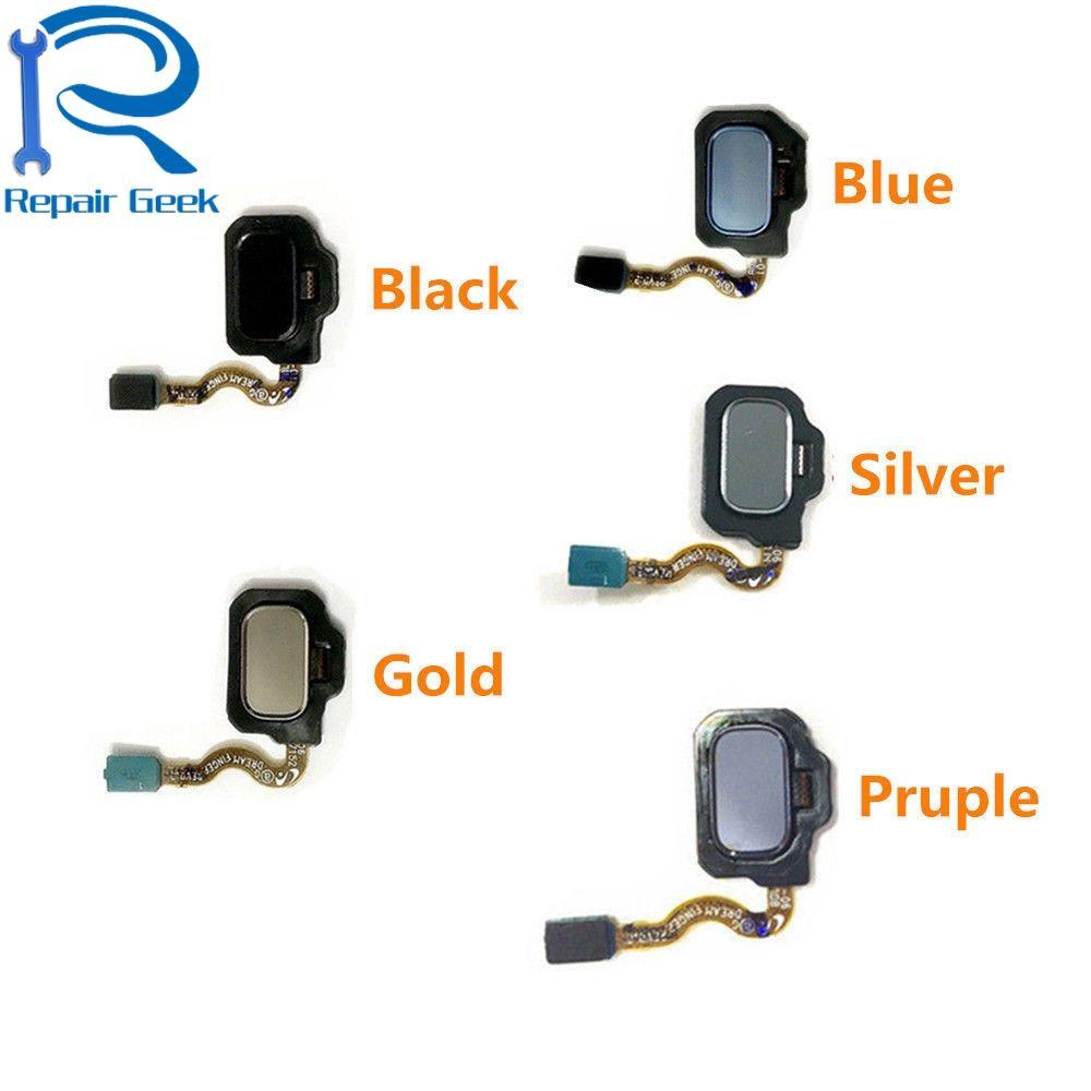 1pcs Touch Fingerprint Sensor Back Home Return Key Menu Button Flex Cable For Samsung Galaxy S8 s8 Plus G955 Repair