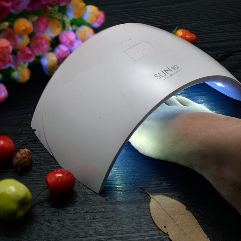 SUN9C LED Lampe Nail 24 w Lampe UV Nail Gel Polonais Machine SUNUV SUNmini2 Plus Manucure Pédicure Portable Vernis Sèche pour Voyage