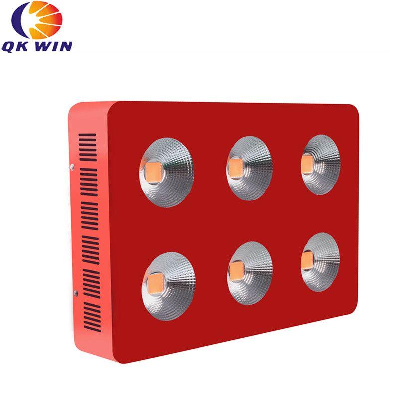 Qkwin G6 COB led wachsen licht 1800 watt mit 6 stücke 300 watt led gesamte spektrum mit reflektor für hohe par wert volle spektrum wachsen beleuchtung