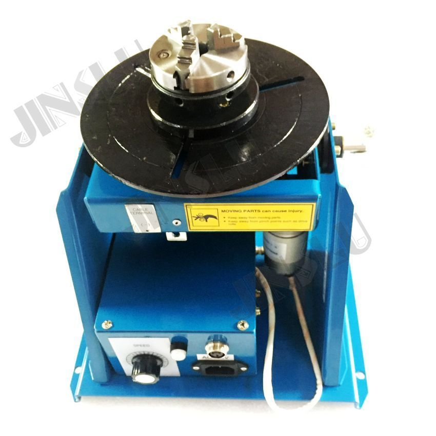 110V welding positioner BY-10 with with K01-63 chucks
