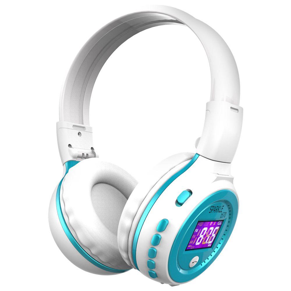 Écouteur sans fil Bluetooth stéréo zèle B570 avec casques micro pour écouteurs mobiles pour Iphone Samsung Xiaomi HTC/FM Radio