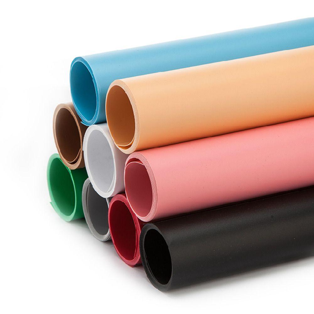 68*130 cm Solide Couleur Mat Givré PVC Fond Plaque Photographie Toile de Fond tissu pour arrière-plan Étanche Anti-rides