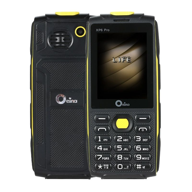 2017 China Original OEINA XP6 Pro Mini GSm old Man 4SIM Phone Four SIM Card 4 SIM Bluetooth MP3 MP4 Strong Torch 2.4 Inch Phone