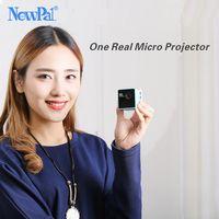 Ultramini DLP проектор P1 проектор (WI-FI опции Version) Full HD мини Бимер Поддержка 70 дюймов 64gTF с 1000 мАч Батарея