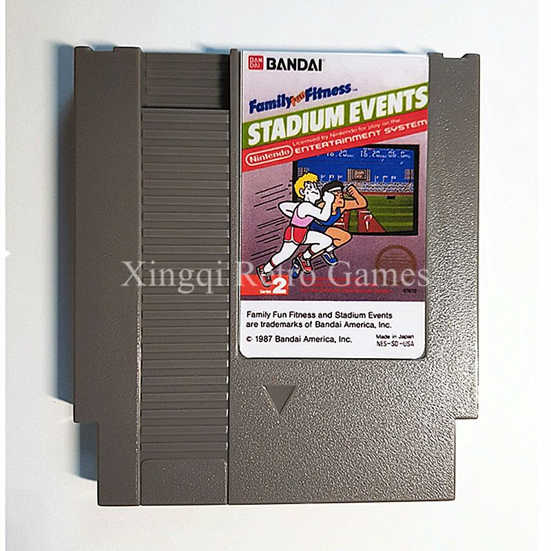 Nintendo Entertainment System NES Game Stadium Events Video Game Cartridge Console Card US/EU Universal English Version