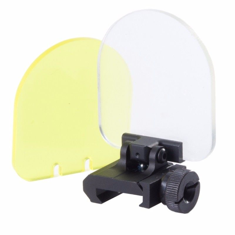 Hunting Airsoft Riflescopes Lens Protector Red Dot Sight Scope Riflescope Transparent Bulletproof Lens Protector