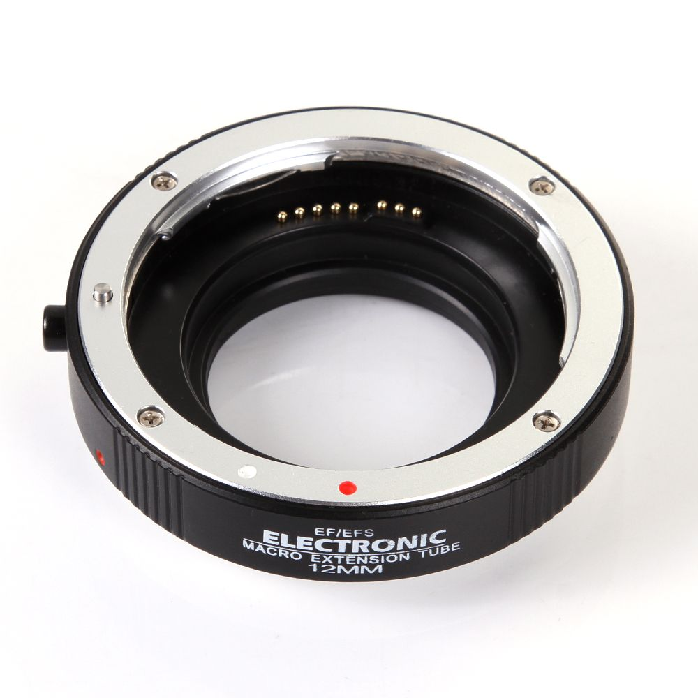 Electronic auto focus macro extension tube 12mm EF-12 DG II for Canon EOS EF EF-S