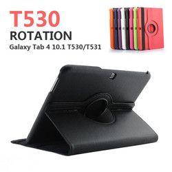 Pour Samsung Galaxy Tab 4 10.1 pouce T530 T531 T535 SM-T530 SM-T531 SM-T535 Tab4 Tablet Cas Support Flip En Cuir Couverture