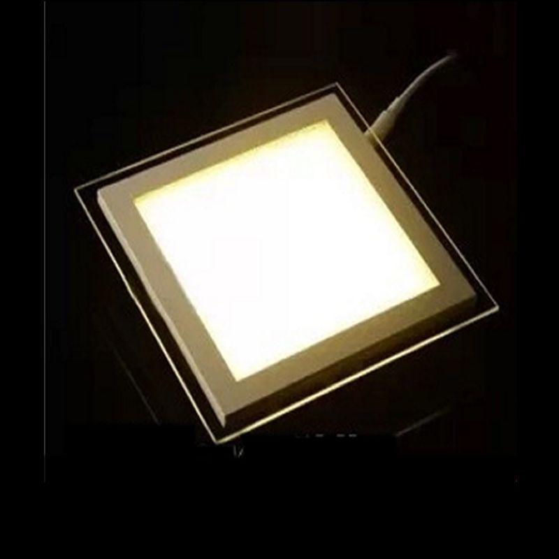 SPLEVISI Dimmable 6 w 12 w 18 w LED Plafond Encastré Downlight Carré Acrylique Panneau Lumineux Pour Foyer Cuisine À Manger chambre Hôtel