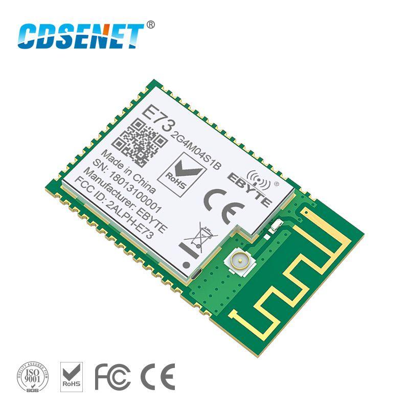 nRF52832 2.4GHz Transceiver Wireless rf Module CDSENET E73-2G4M04S1B SMD 2.4 ghz Ble 5.0 Receiver transmitter Bluetooth Module