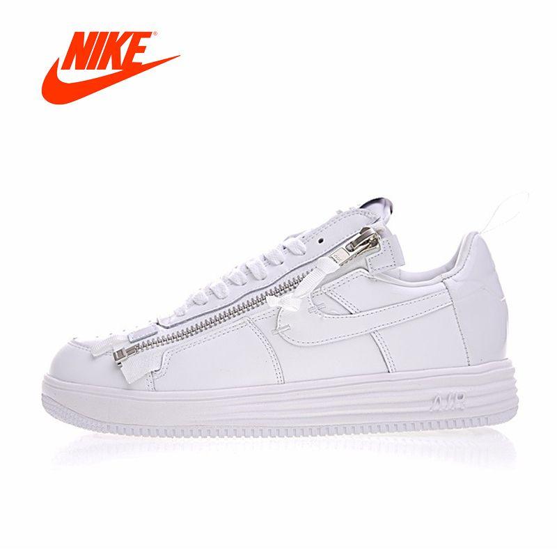 Original Neue Ankunft Authentic Nike Lunar Force 1 x ABKÜRZUNG männer Skateboard Schuhe Sport Turnschuhe Gute Qualität AJ6247-100