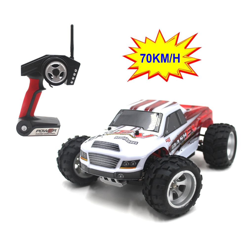 70KM/H,New Arrival 1:18 4WD RC Car JJRC A979-B 2.4G Radio Control High Speed Truck RC Buggy Off-Road VS JJRC A959 Truck