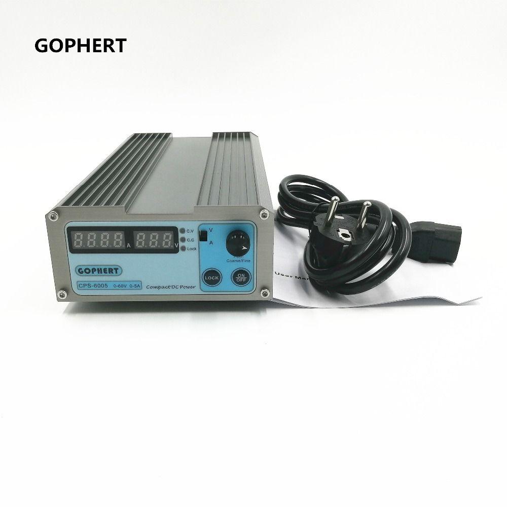 Petit Volume CPS-6005 60 V 5A Compact Réglable Interrupteur-Mode de Commutation DC Alimentation Alimentation power