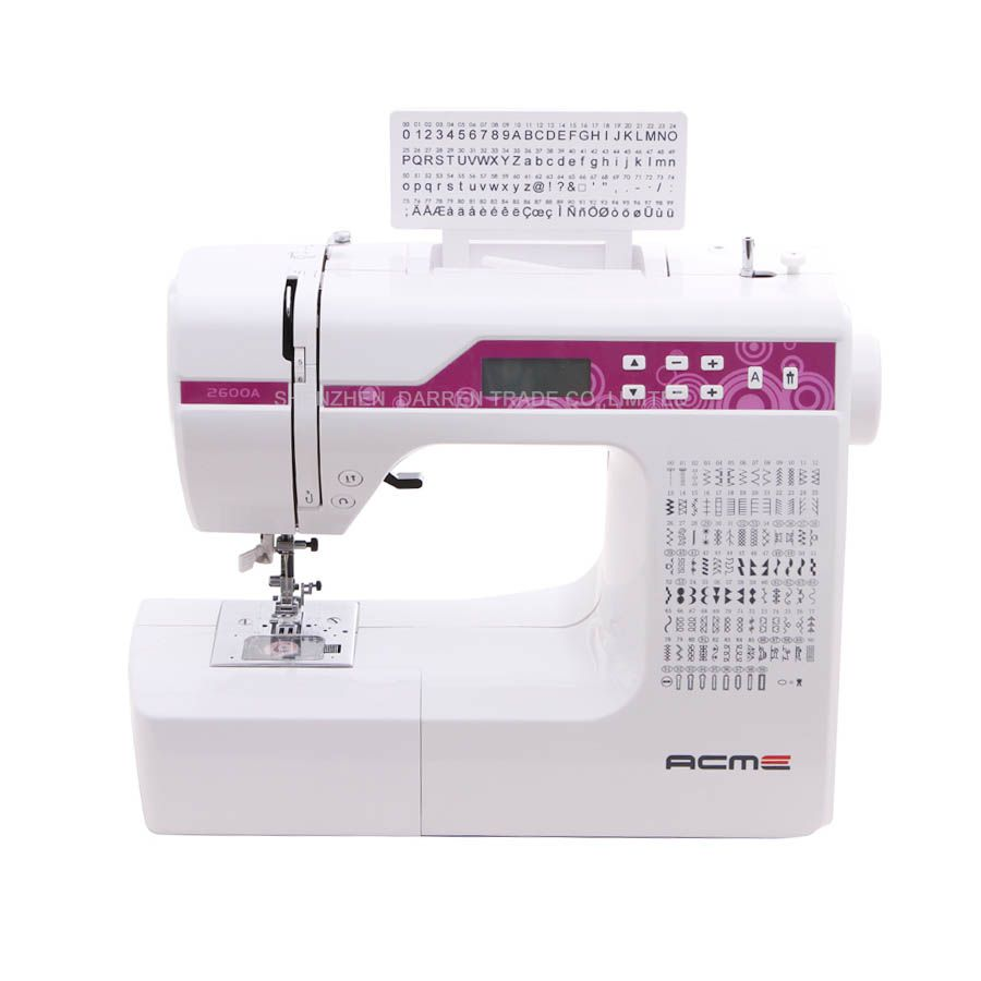Household Multi-Function Sewing Machine,With Different 200 Stitches,Can Embroidery Letters,LCD Screen,Super Product!