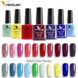 Free Shipping CANNI Gel Varnish Lacquer Nail Art DIY 60 Colors VENALISA Soak off Organic Odorless Enamels LED UV Nail Gel Polish