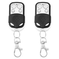 4 canal inalámbrico duplicadora teledirigida copiar código aprendizaje RF control remoto para puerta eléctrica puerta de garaje 315/433 MHz