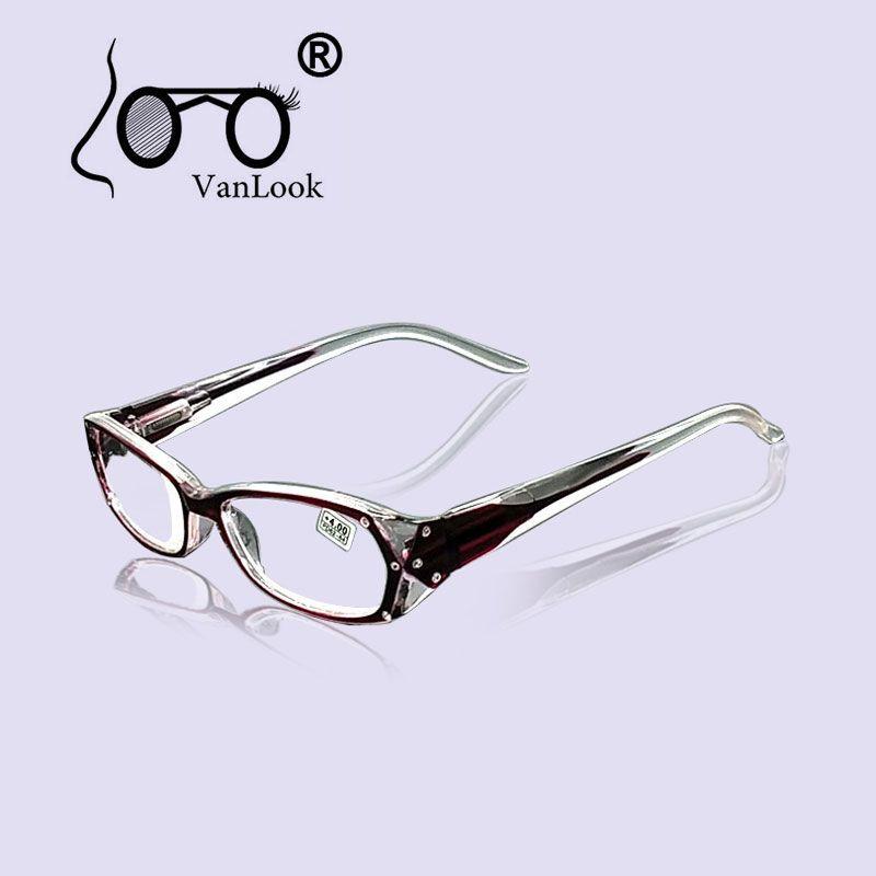 Strass lunettes de lecture femmes Gafas de Lectura lunettes de mode montures de lunettes + 50 + 75 100 125 150 175 200 250 300 350 400