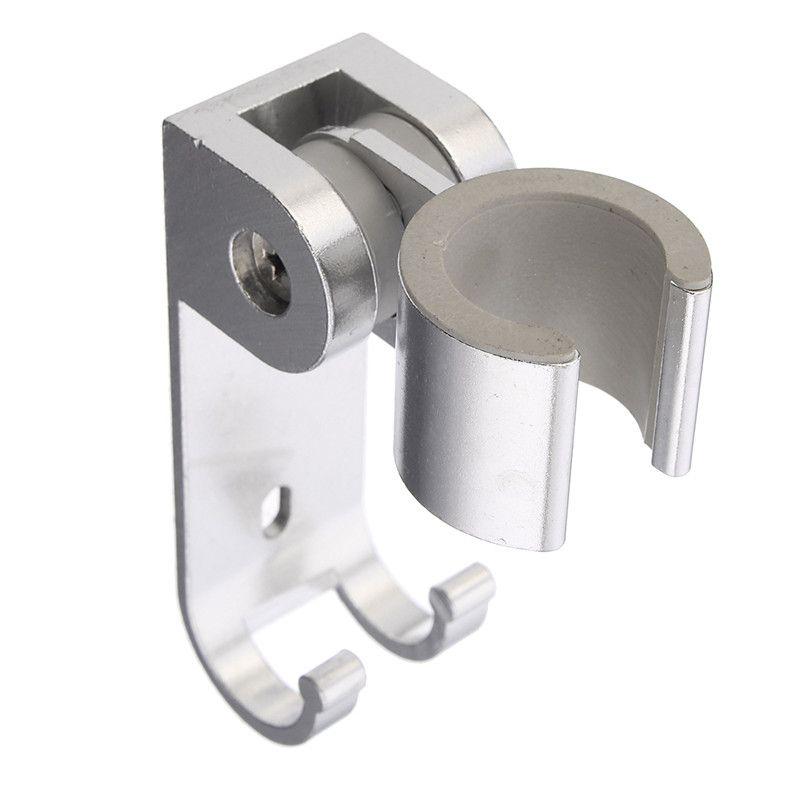 1 stück Aluminium Alloy Badezimmer Wand Dusche Halter Duschkopf Halterung Halter Mit Haken Bad-accessoires