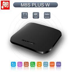 Mecool M8S Plus W Android 7.1 Smart TV Box Amlogic S905W Quad core 1GB 8GB Mini TV BOX WiFi MINI PC 4K Set Top Box PK X96mini