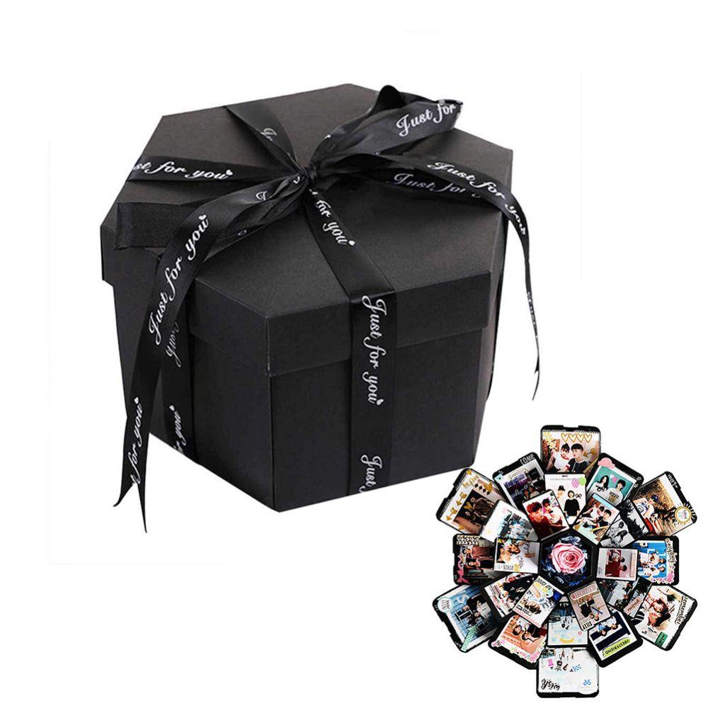 DIY Photo Album Explosion Gift Box Storage Box Birthday Valentine's Gift Handmade Gift with DIY Accessories Kit Boom Gift Box