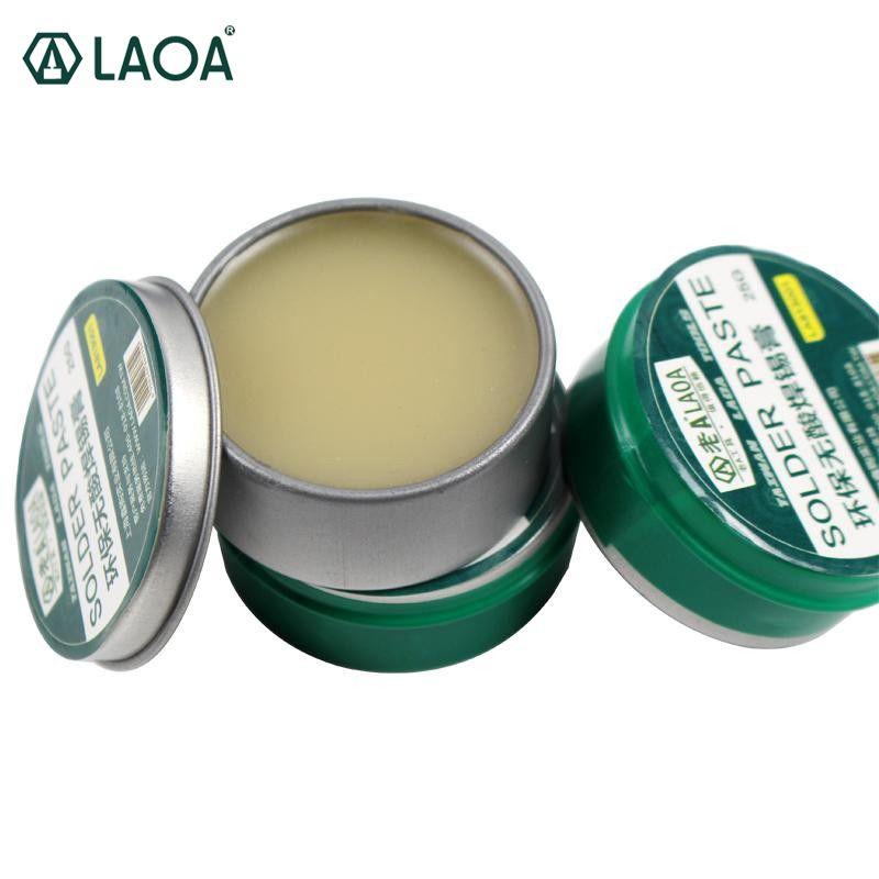 LAOA sans acide SMD pâte à souder Flux graisse SMT IC 10cc outil de réparation soudure PCB livraison gratuite