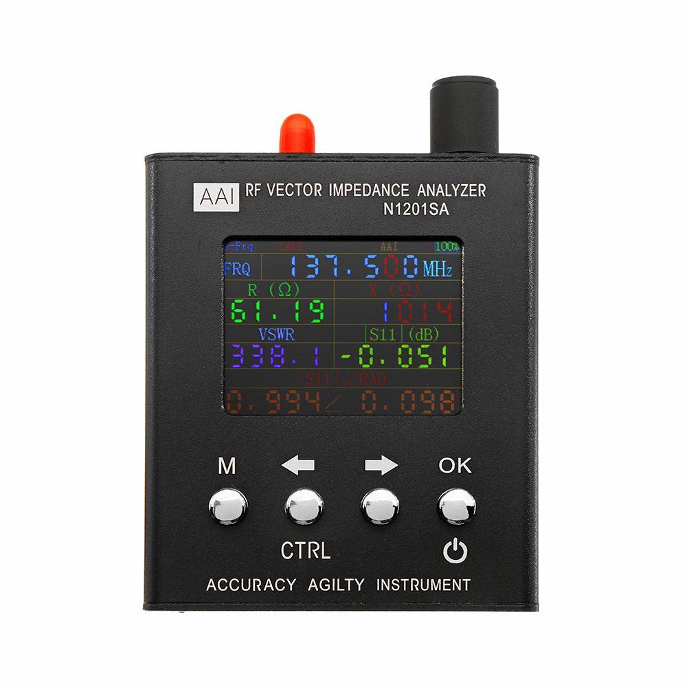 Englisch Verison N1201SA 140 mhz-2,7 ghz UV RF Vector Impedanz ANT SWR Antenna Analyzer Meter Tester