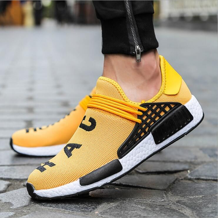 High Quality Couple Walking Shoes women's sports shoes women's Sneakers Fly Line Shoes Large Size Men And Women Sneakers WK22