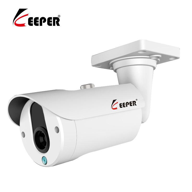 Keeper Mini Überwachungs Kamera Sony IMX323 AHD Camera1080P 25 mt Nachtsicht CCTV Kamera IR Im Freien Wasserdichte Sicherheit Kamera