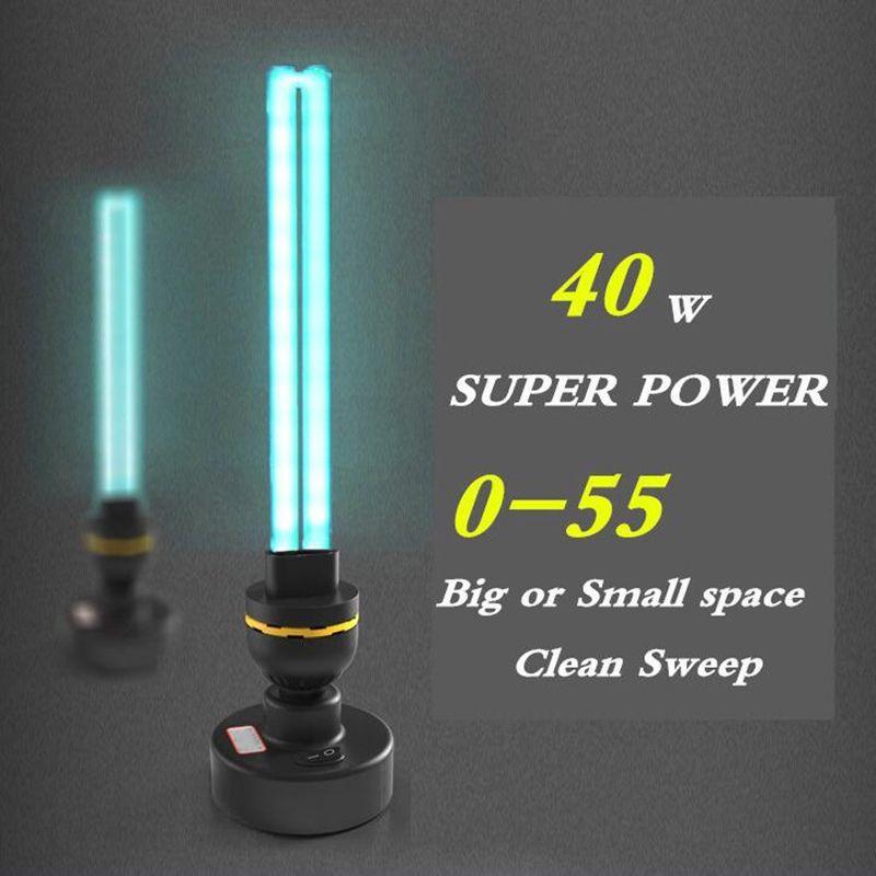 40 W Haute Ozone Désinfection UV lampe 110 V 220 V Ménage Ultraviolet Lampes E27 Tube UVC Germicide La Lumière De Stérilisation. lumières