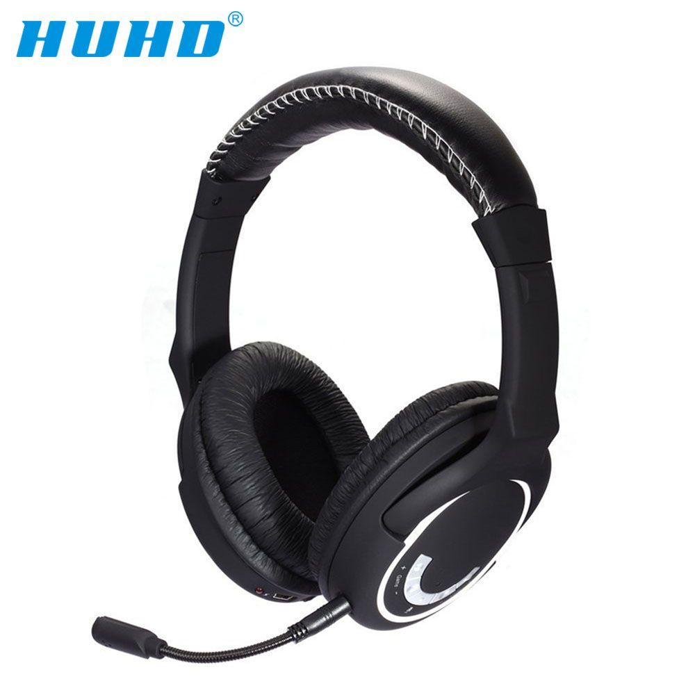 NEUE HUHD HW-390S 2,4 ghz Wireless Gaming Headset Stereo Sound für nintendo SCHALTER PS4/3 Xbox und PC kopfhörer noise Cancelling
