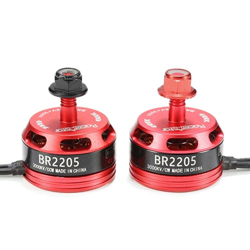 Hot Sale Racerstar Racing Edition 2205 BR2205 3000KV 2-4S Brushless Motor For X180 X210 X220 FPV Racing Frame For RC Multicopter