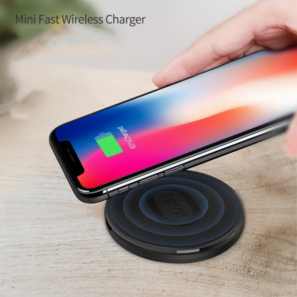 Nillkin Mini 10W Fast QI Wireless Charger Charging Pad for Samsung Galaxy S10/ S10+ / S9+/S9 S6 for iPhone Xs Max X for Xiaomi 9