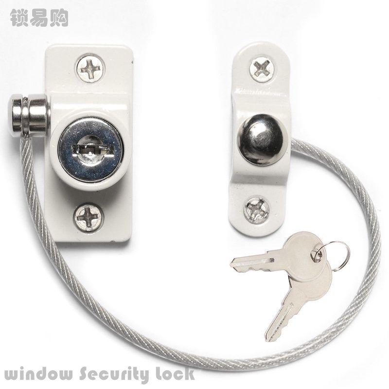 Nueva aleación de aluminio Puertas y windowsanti bloqueo antirrobo Cadena de aleación de zinc ventana corredera limitador Seguridad bloqueo casa Equipos kyy8045