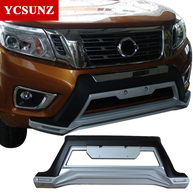 2015-2018 front bumper For Nissan Navara Frontier 2017 front body kits with DRL for Nissan Navara 2016 frontier bumper Ycsunz