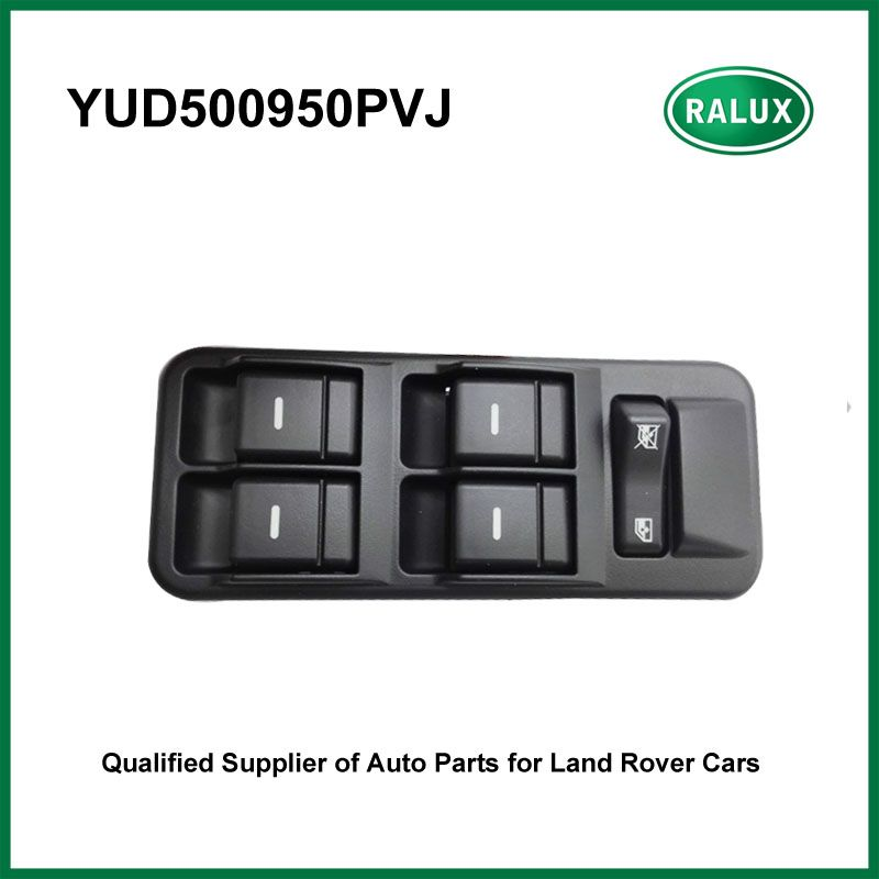 YUD500950PVJ car drive side front left door window switch for Land Range Rover Discovery 3 2005-2009 auto left door switch sale