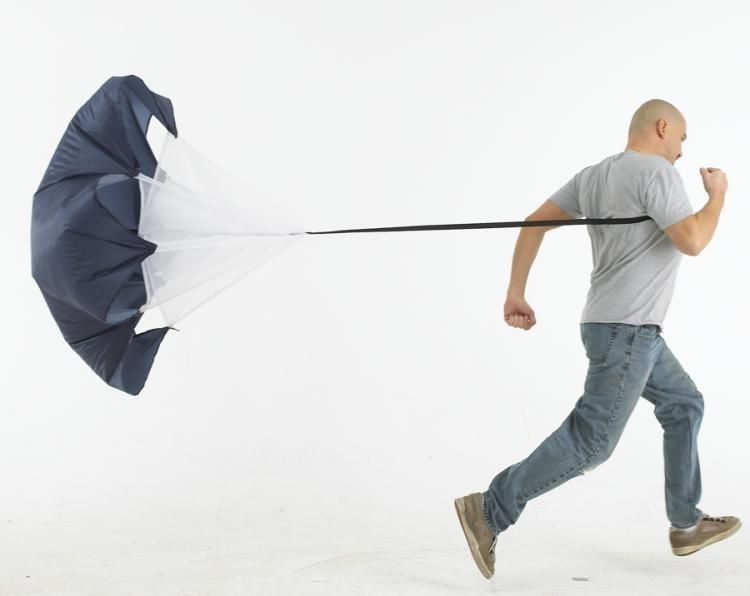 Speed Training Resistance Parachute 56'' Speed Chute Running Umbrella parachute for running 1pc freedrop