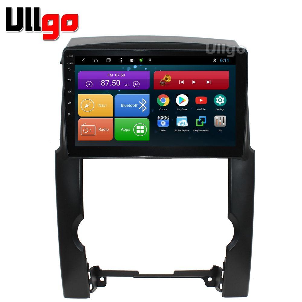 10,1 zoll Android 8.1 Auto Kopf Einheit für Kia Sorento Autoradio Zentral Multimedia mit BT Radio RDS Spiegel-link Wifi 16 gb karte karte
