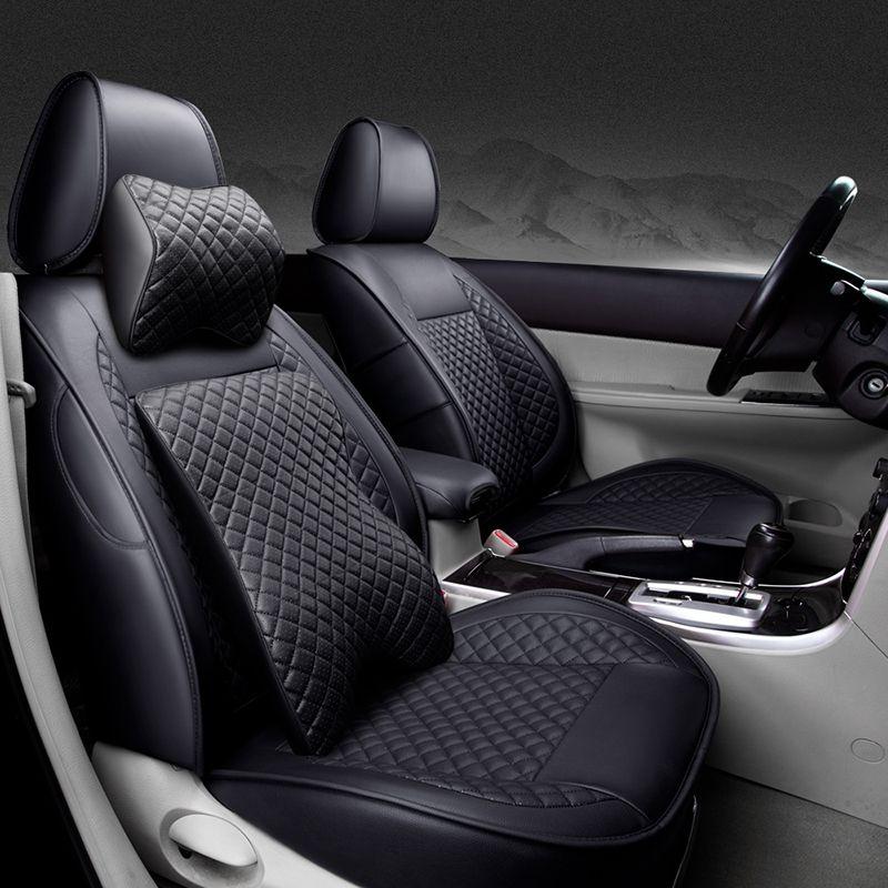 Sonder hochwertigem Leder autositzbezüge Für Volkswagen vw passat polo golf tiguan touareg jetta auto zubehör auto-styling