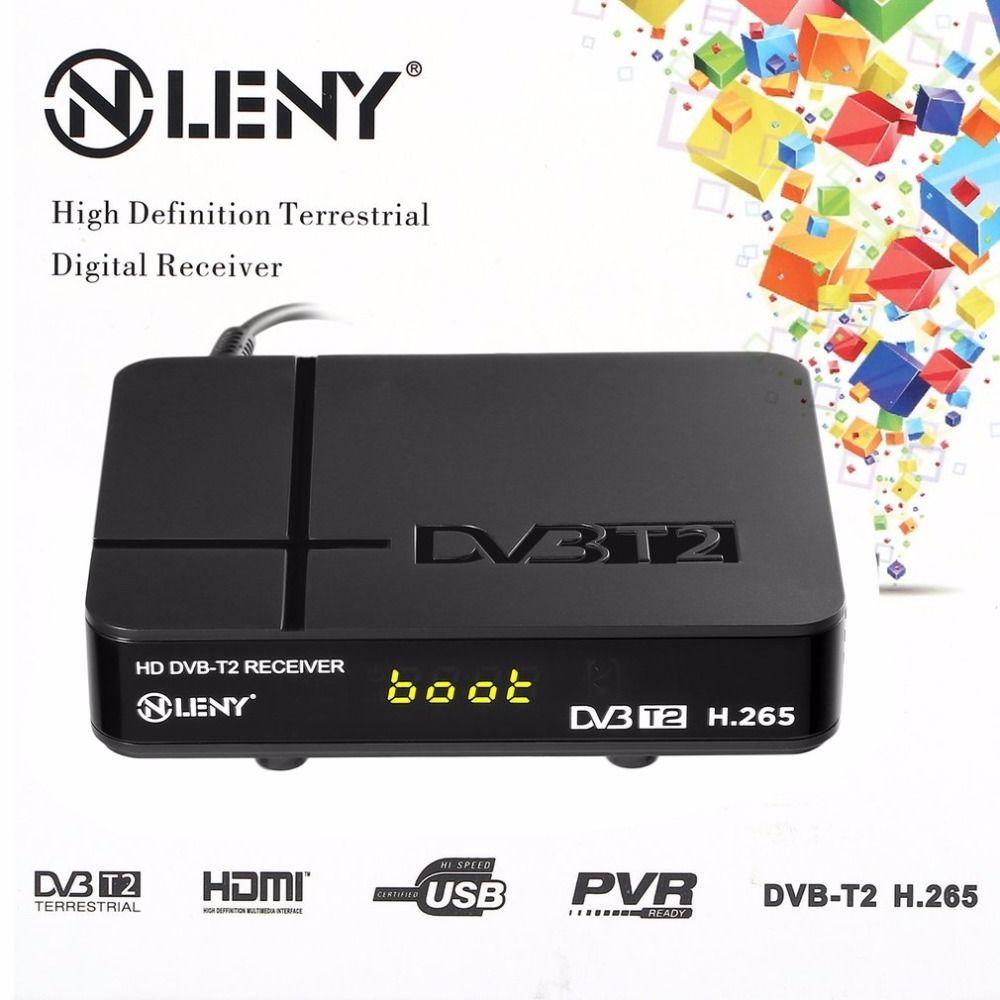 ONLENY HD DVB-T2 Receiver HEVC H.265 Kombi Receiver HDMI 1080P TV Box VGA AV Dolby MM Tuner Receiver 2017 New Arrival