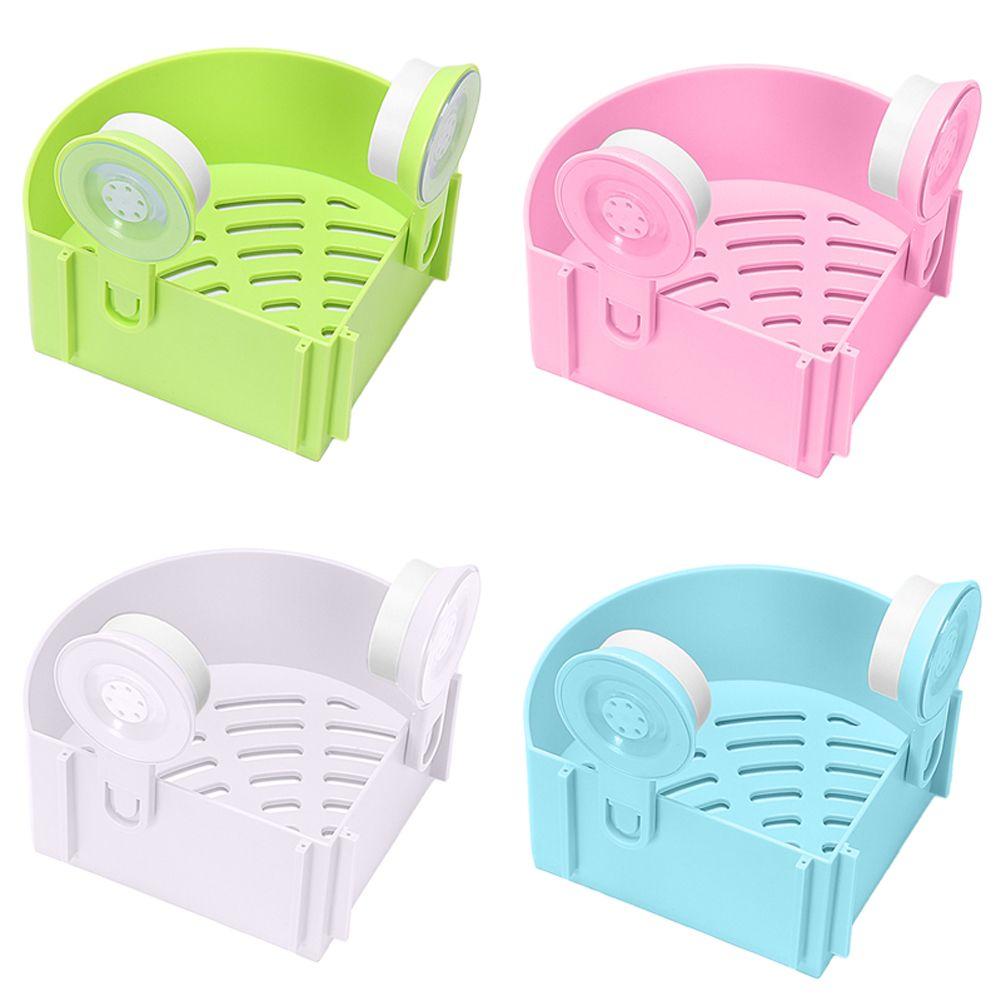 4 Colores Triángulo Fuerza Lechón Baño Estantes de Rack de Almacenamiento De Baño Útil Tapiz Aseos Conveniencia